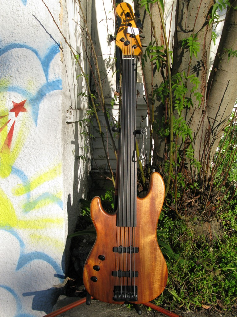 Subway Custom Fretless Left-handed Electric Bass