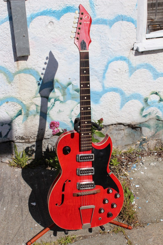 Kay Electric Jazz Blues Electric Guitar
