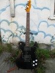Subway Custom Telecaster With Mahogany Body