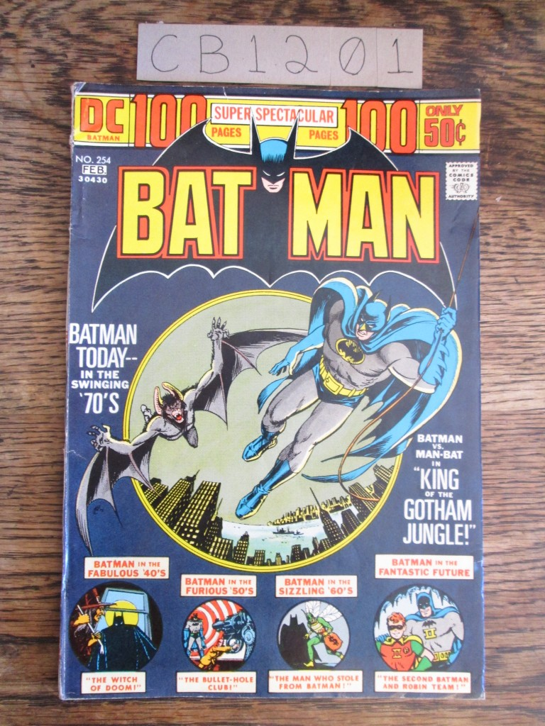 Batman vs. Man-Bat, Batman Vol. 35 No. 254,  January - February 1974
