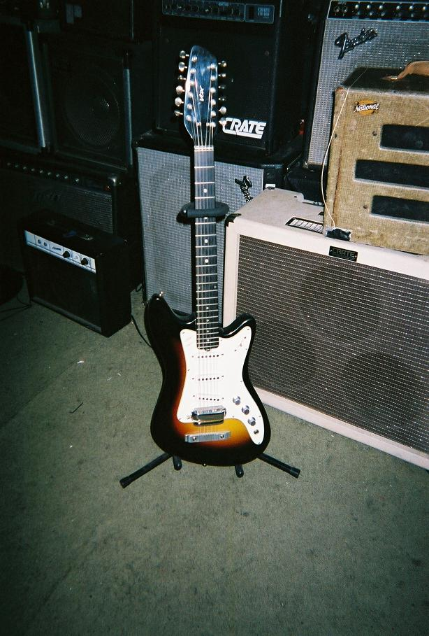 '60 Vox 12 string $750