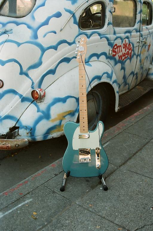 Subway custom tele w' P-90 $325