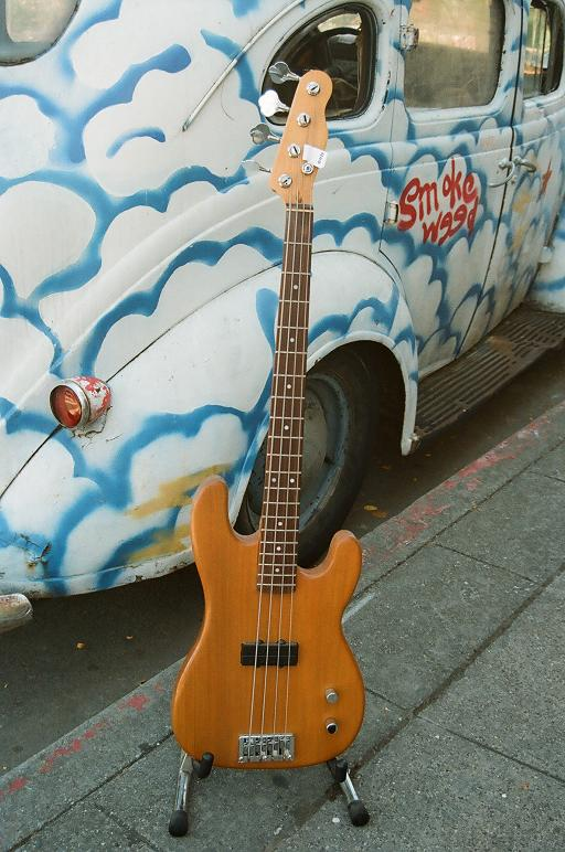 Sub custom Tele Bass w' Schaller Quad PU $400