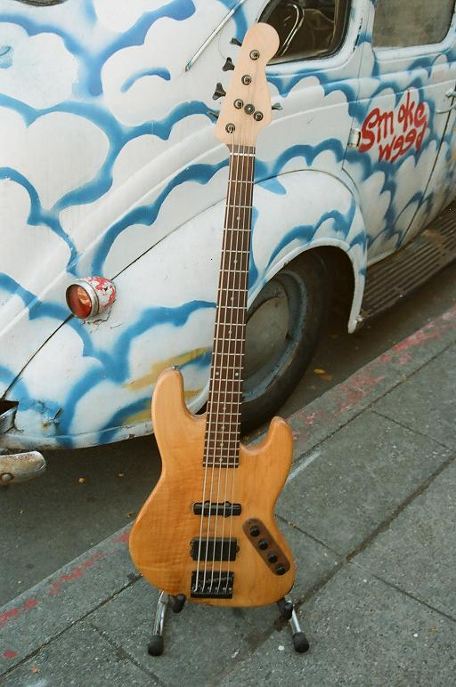 The famous ODEN bass Bartolini MME + J + NTBT preamp $900