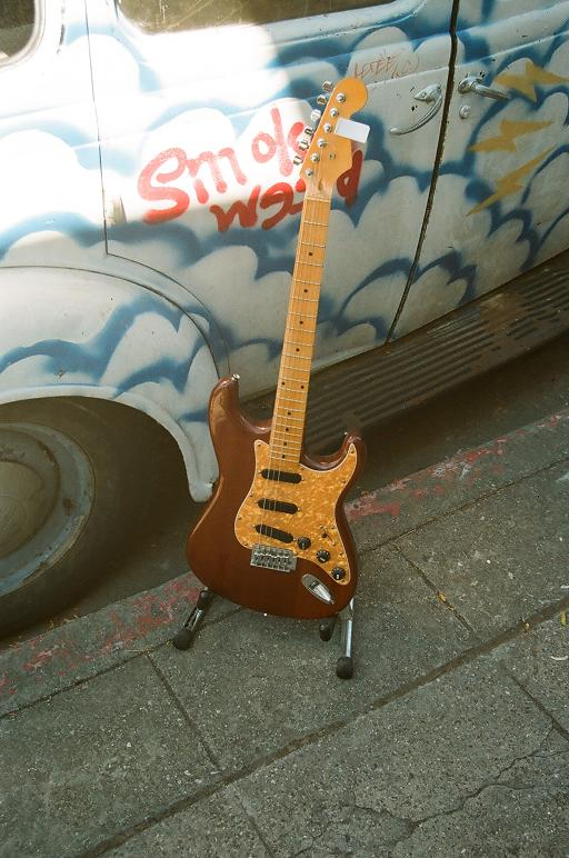 sub strat $300 (wear w' brown worsted or serge @ the Club ;)