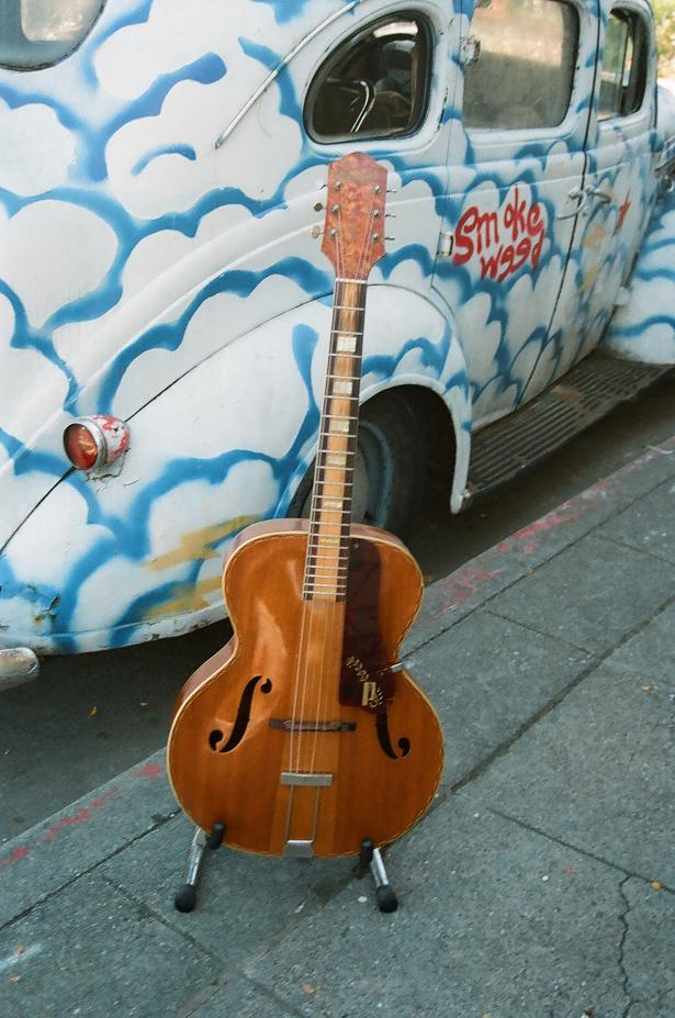 "'40's awesome Kay 16"" archtop $500"