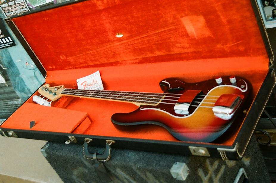 1969 Fender Precision Bass, never sold (!)
