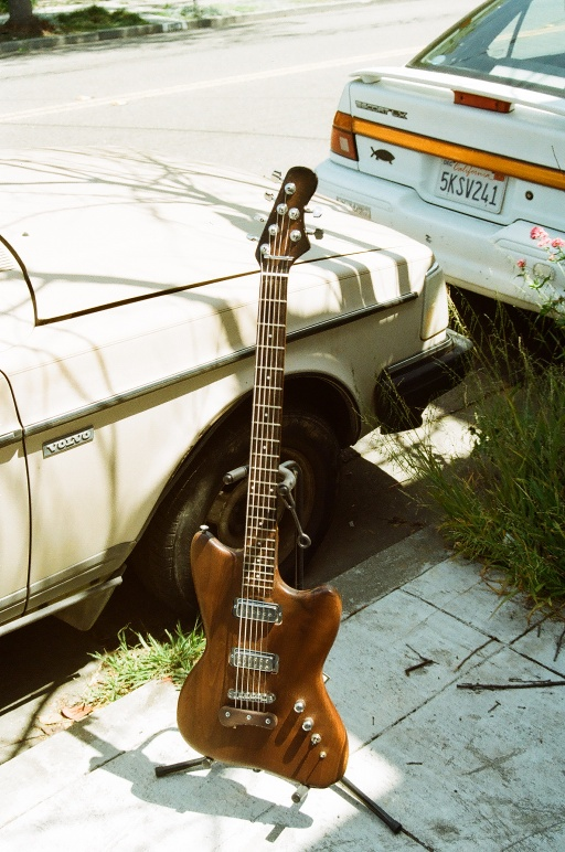 Subway Walnut Baritone (I'm not kidding or lying about this, this one really is crazy, early 60's neck, plays effortlessly)
