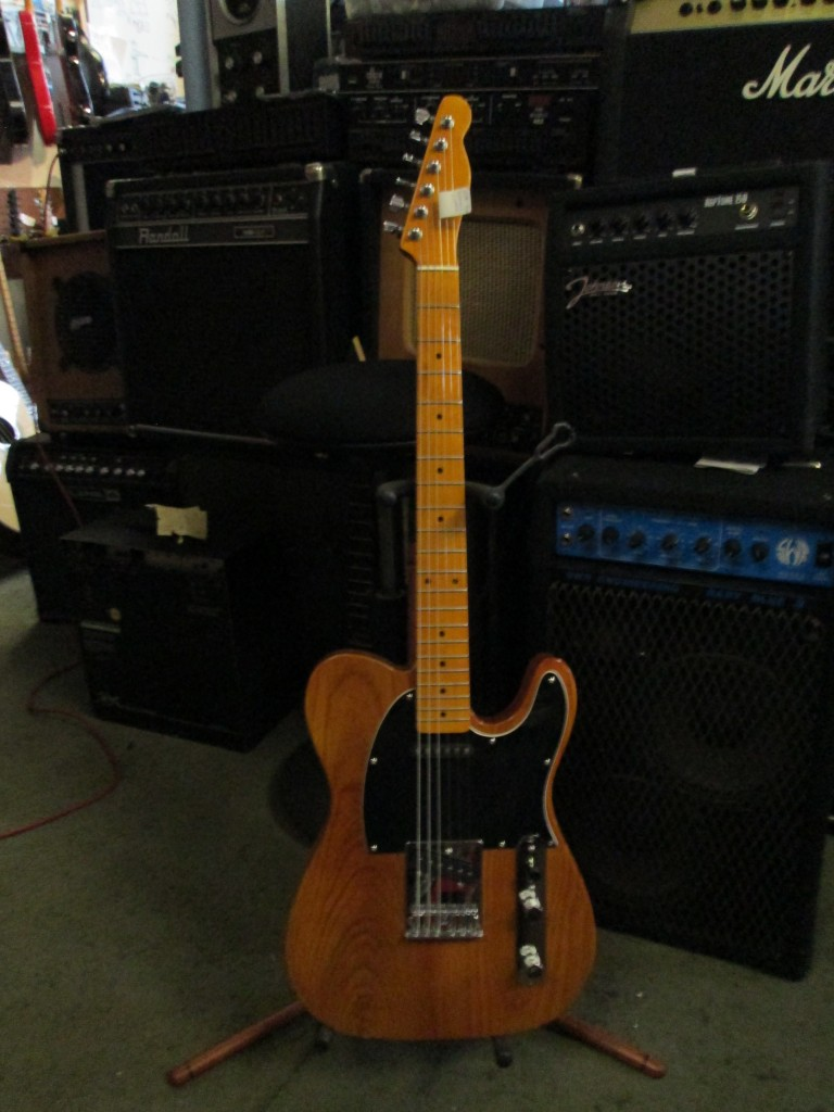 Subway Custom Tele with USA Fender body $400