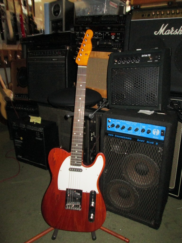 Another Subway tele w' USA Fender body, rosewood neck, $400