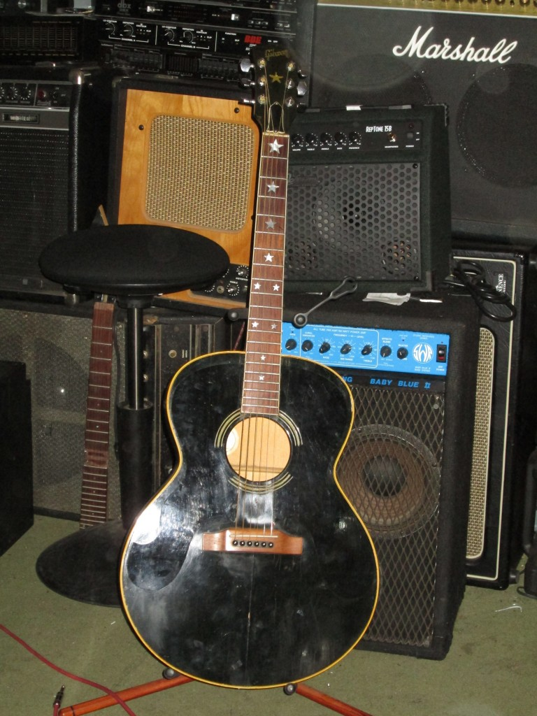 90's Gibson Everly Brothers w' Fishman Sound Sponge, pickguards removed, but included w' purchase, $1500