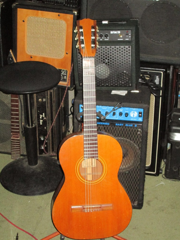 circa 1963 Gibson classic solid mahogany and spruce $600