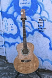 Ibanez Flame J-200 Pickups $250