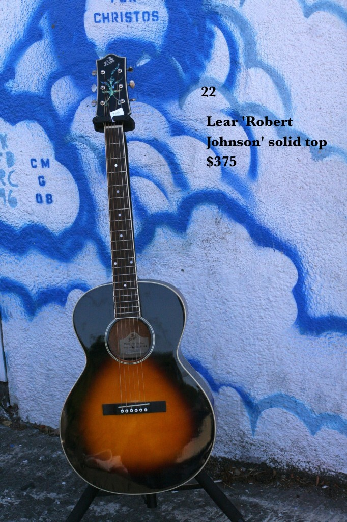 Loar 'Robert Johnson' solid top $375