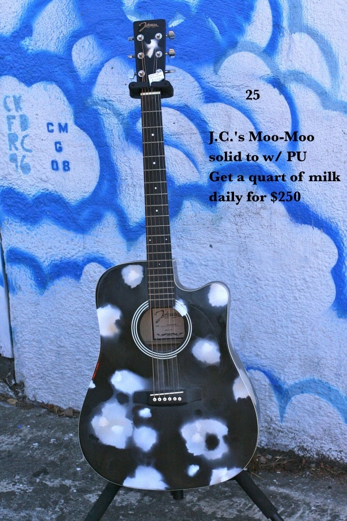 J.C.'s Moo-Moo solid top w/PU Get a quart of milk daily for $250