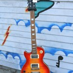Lefty Les Paul Flame Maple Top, set neck $300
