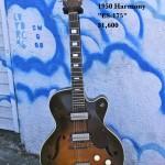 """1950 Harmony """"ES-175"""" $1600"""