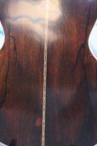 "15"" Brazilian Rosewood Larson Bros (Back view"