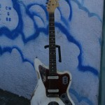 Chewed up 1965 Fender Jaguar !seems original!