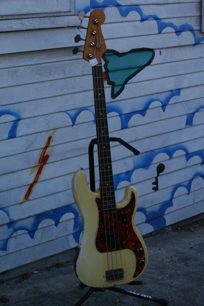 Holy Grail: 1963 Fender Precision Bass Olympic White $7000
