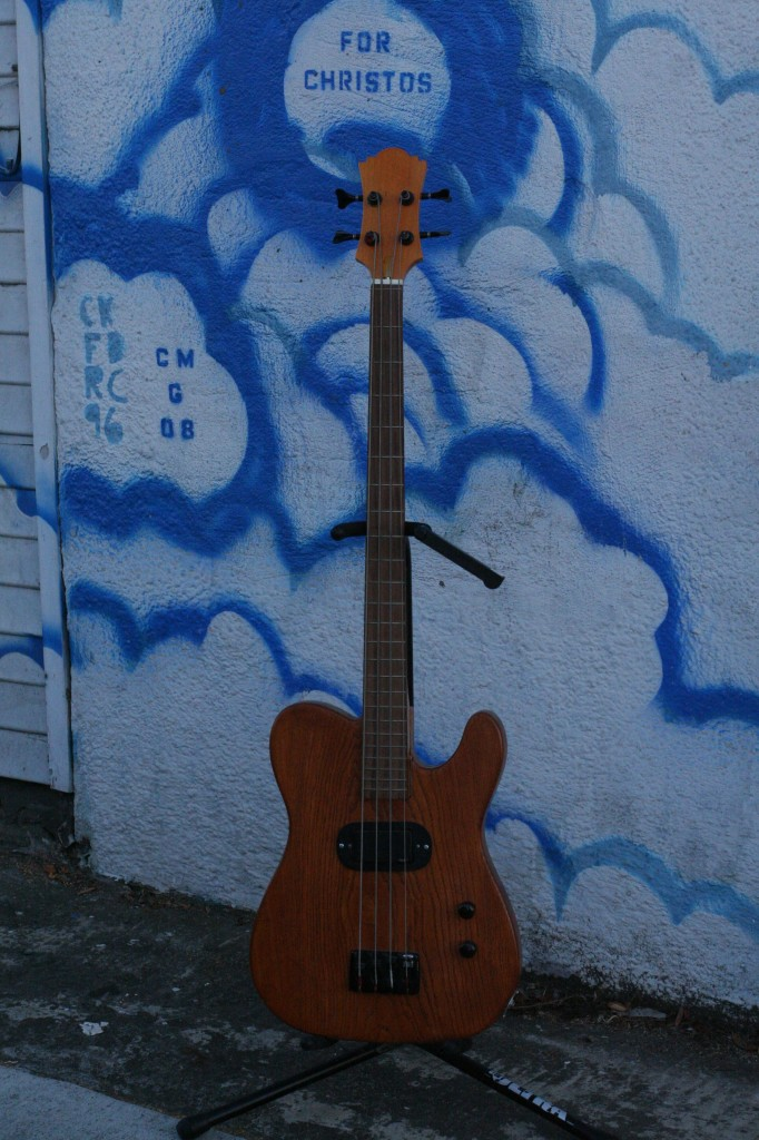 Custom Fatdog midscale bass with EMG pickup $600