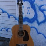 60's Harmony Sovereign D-12 12 String pin bridge, reset neck, GREAT guitar, $500