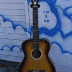 60's Stella 12 String All Birch Pin Bridge Reset Neck $400