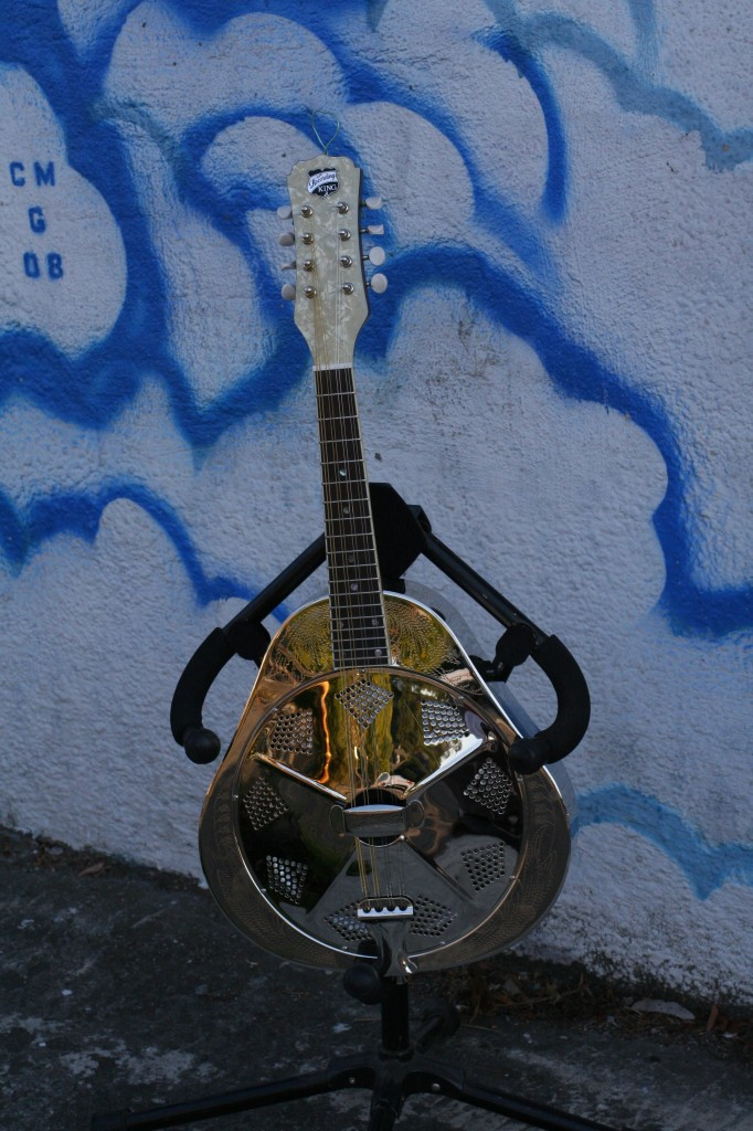 King Resonator Mandolin $500 (this is badass)