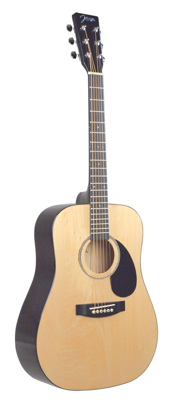 $140 JG615 -  dreadnaught with solid spruce top and high quality tuning machines amazing tone at great price