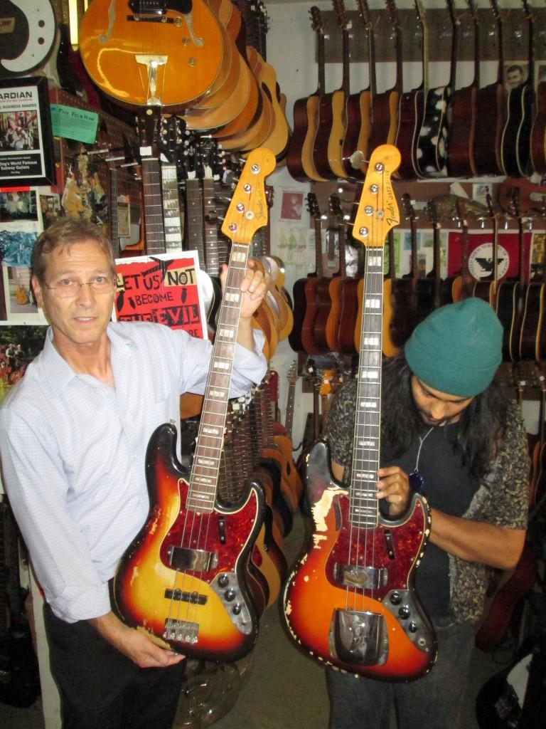 '66 & '68 fender jazz basses