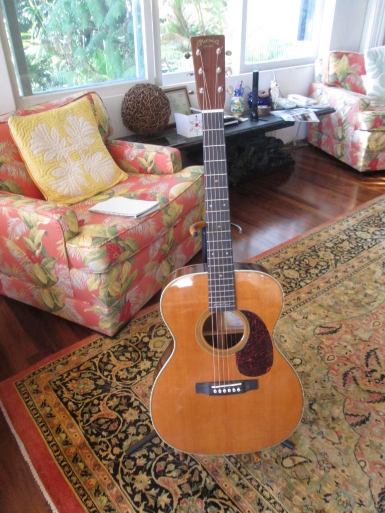Martin 000-28 Eric Clapton model w' electronics serial: 1109443 $2700