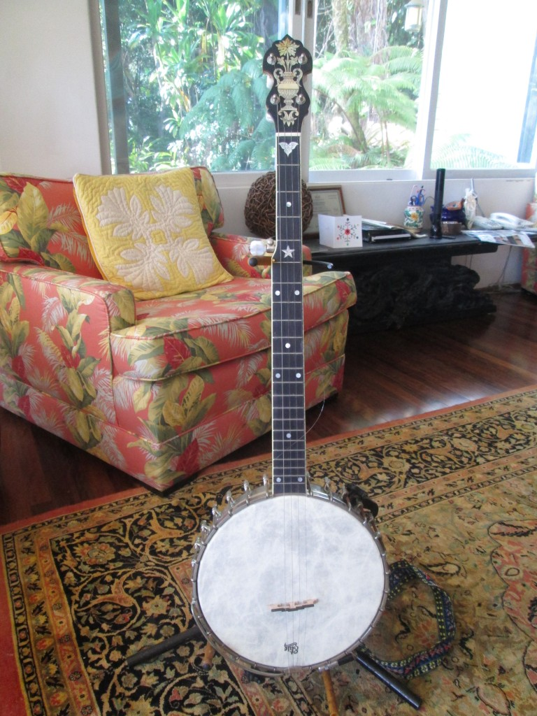 Super fancy Bart Ritter Banjo #2096 $1800