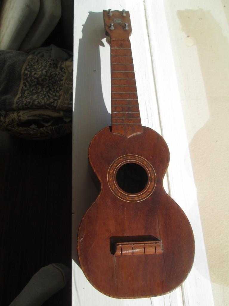 Hawaiian Kumala rope-bound ukulele circa 1920 $1000
