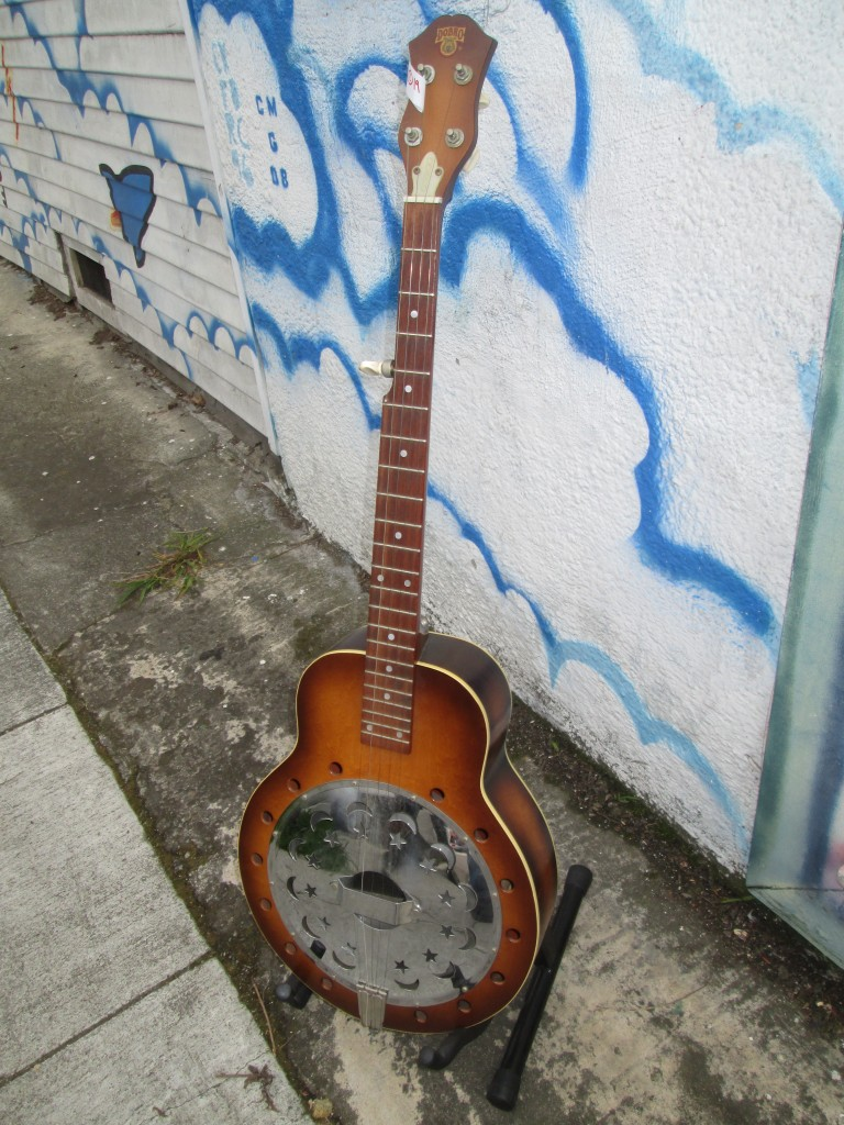 '60s Dobro Banjo Michael Prichard $1200