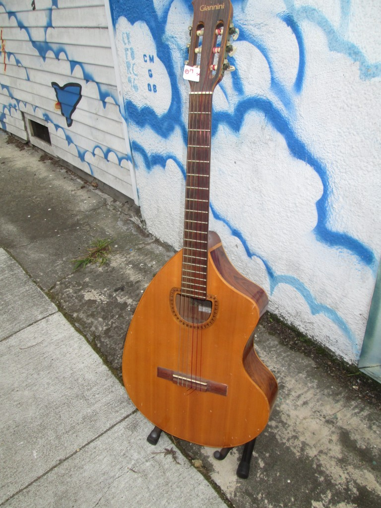 Craviola solid spruce top Brazillian rosewood back and sides $700