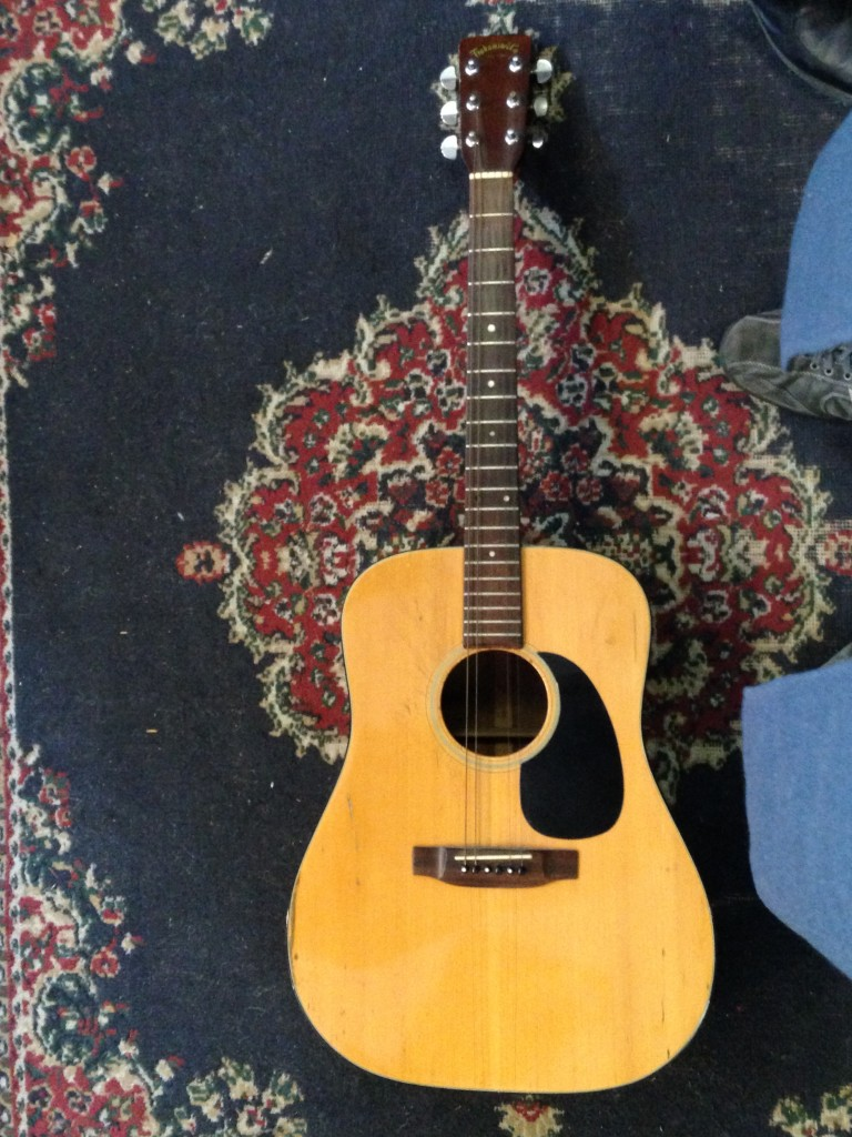1970 Takamine 340s 'solid top D-18' $300