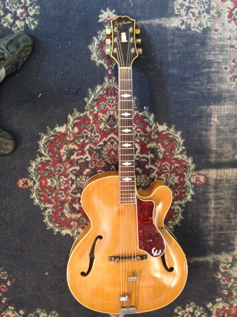 1950 Epiphone Triumph cutaway all carved $3200