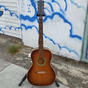 40's united guitar co. 00- spruce + flame maple sounds great lite Gibson 1930 LO model
