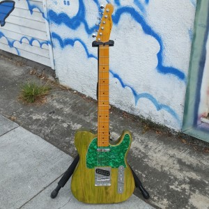 Custom Subway tele USA Fender Corona body you thought it was green but its snot $400