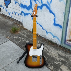 Subway custom tele similar to 50's style $300