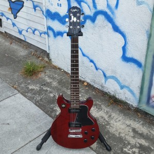 Epiphone les paul special double cut away 1959 style with 2 P-90 pick ups set neck $400