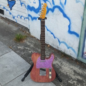 Princie purple tele USA fender corona body $400