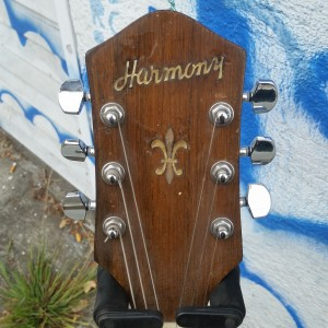 "50's Harmony like ""Gibson ES-175"" - P-90 sound. Reset straight neck low action. $1600"
