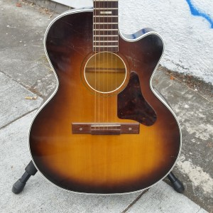 50's Harmony concert size cutaway - clean $1200
