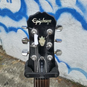 Epiphone replica of 50's Gibson Les Paul special great guitar set neck P-90's $400