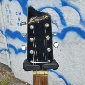 1960's Japanese fiddle guitar Kingston / Kawaii $375