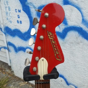 1960's Hongston Crovette set neck push buttons with gear shift $1750