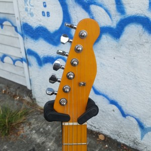 Custom Subway Tele USA Fender Corona flame body with neck HB $600
