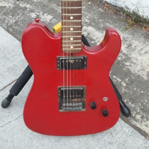 Yamaha Tele with humbuckers SG 550 HR made in japan $350