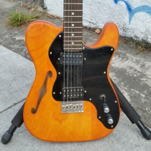 Custom Subway Tele USA Fender Corona thinline body with humbuckers